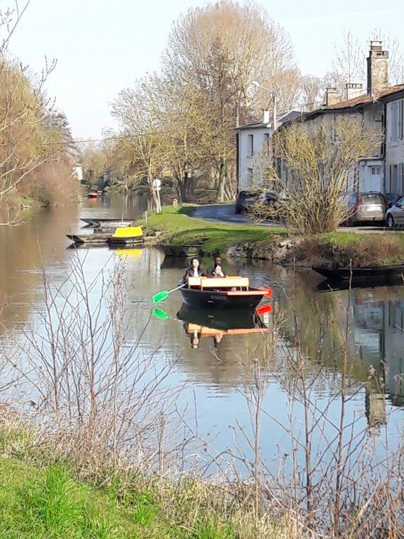 Balade en barque à Coulon