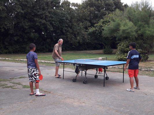 Party de ping pong