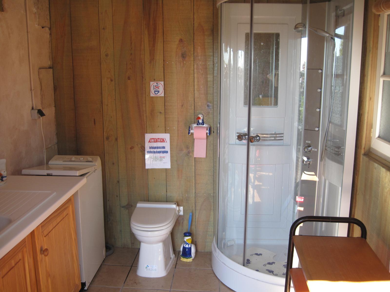 La cabane à laver